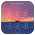 Lock screen with password