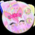 Rainbow Flower Unicorn Theme