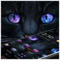 Dark Black Magic Kitty Theme