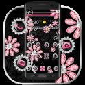 Pink Diamond Flower Luxury Theme