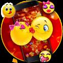 Romantic Glitter Emojis