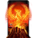 Flame Fire Phoenix Theme