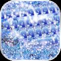 Blue Silver Glitter Theme