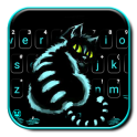 Cheshire Night Cat Keyboard Theme