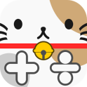 Calculator of cute cat
