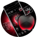 Black Red Apple Crystal Theme