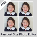 Passport Size Photo Editor -Passport photo creator