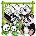 Cute Panda Gravity Keyboard
