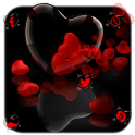 Romantic Red Love Heart Theme