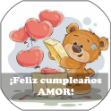 Feliz cumpleaños mi amor dedicatorias e imágenes