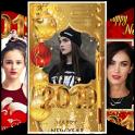 Feliz Año Nuevo marcos de fotos 2020