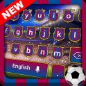 Barcelona Football Keyboard