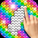 Sequin Flip Live Wallpaper Rainbow