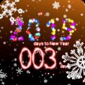 New Years countdown 2019 premium