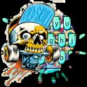 Street Skate Graffiti Keyboard Theme
