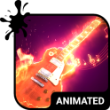 Rock Animated Keyboard