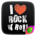 Rock N Roll GO Keyboard Theme