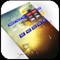 Digital clock and weather widget ⛅ .