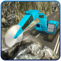 Off-road Crane Operator Rock Mining Machine Games