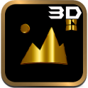 Mia - Gold for Next 3D theme