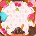 Cupcake Photo Collage