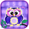 Sweet Owls Keyboard Themes