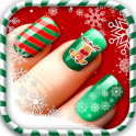 Christmas Nail Manicure Salon