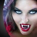 Vampire Teeth Photo Montage