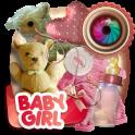 Baby Girl Scrap Photo Frames
