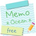 Sticky Memo Notepad *Ocean* Free