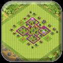 Town Hall 6 Farming Base COC