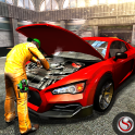 Car Mechanic Workshop Gas Station Service