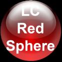 LC Red Sphere Theme for Nova/Apex Launcher