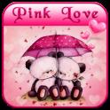 rosa Liebe Bär Thema