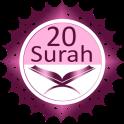 Twenty Surahs Of Quran