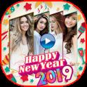 Happy New Year Photo Video Maker 2019