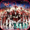 Santa Super HD VIDEO Wallpaper