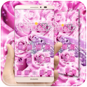 Pink Love Rose Theme