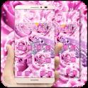 Pink Love Rose Theme
