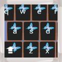 Neon Butterflies Keyboards