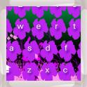 Purple Flowers Keyboards