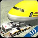 aeropuerto suelo vuelo palo 3D