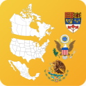 North American Countrys States