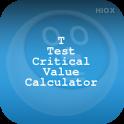 T Test Critical Value Calci