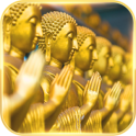 God Theme Buddha golden