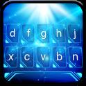Blue Light Animated Keyboard + Live Wallpaper