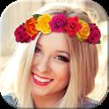 Flower Crown Selfie Camera