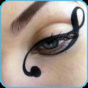 liquid eyeliner step by step
