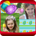 Easter Eggs Photo Collage