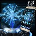 3D Tech Lightning Ball